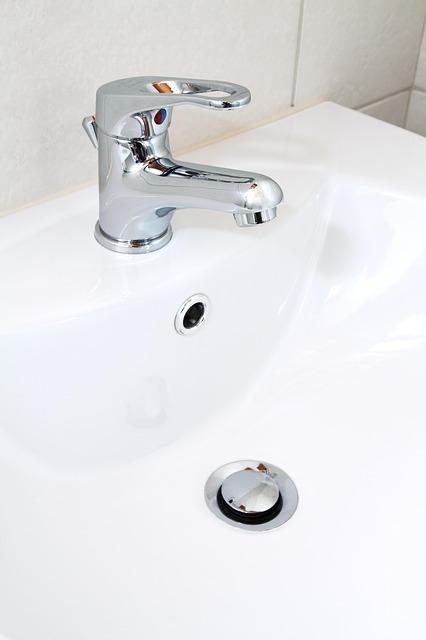 Technique de pose d'un lavabo